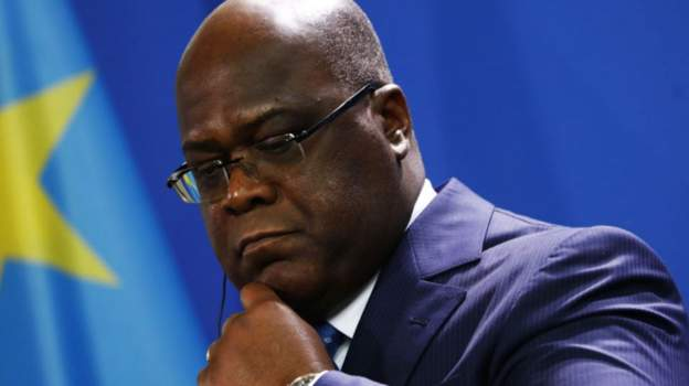 President Tshisekedi seeks to stop the spread of the virus from Kinshasa. Courtesy photo