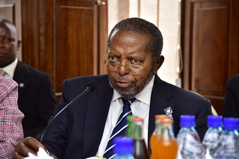 BoU Governor Tumusiime Mutebile