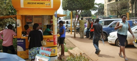 MTN Mobile Money agent