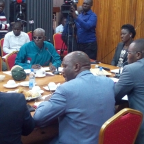 Gen Elly Tumwine clashed with Human Rights committee MPs over safe houses on Wednesday