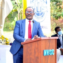 Managing Director of National Water and Sewerage Corporation (NWSC) Dr. Eng. Silver Mugisha