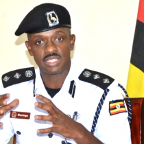 SSP Norman Musinga, the Kampala Metropolitan Police Traffic Commander