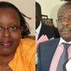 Deputy Solicitor General Christopher Gashirabake (R) has been accused of making sexual advances to Senior State Attorney Samantha Mwesigye.