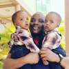 Minister Ronald Kibuule and his late twins