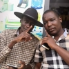 Bajjo (left) together with colleague Abtex Musinguzi. Courtesy photo