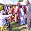 President Museveni being endorsed in West Nile recently. PPU photo