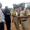 Rwanda-Uganda security officials during hand over of the bodies. Courtesy photo