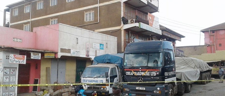 Scene of Crime: Cheap Hardware Shop Nansana. Courtesy photo
