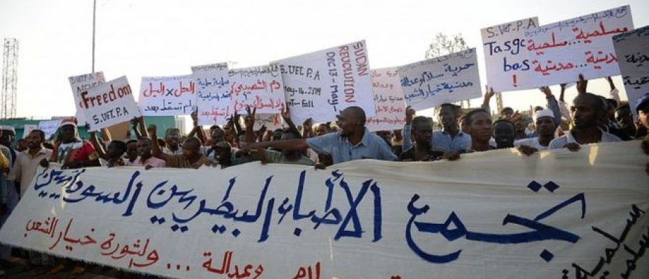 Protesters' demands for full civilian government have remained undimmed. Courtesy photo