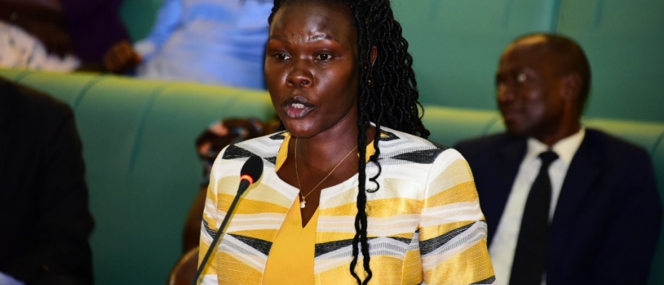 Evelyn Anite, state minister for Privatization