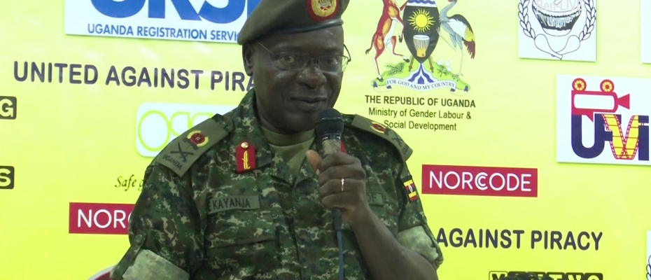 Maj Gen Elly Kayanja. Courtesy photo