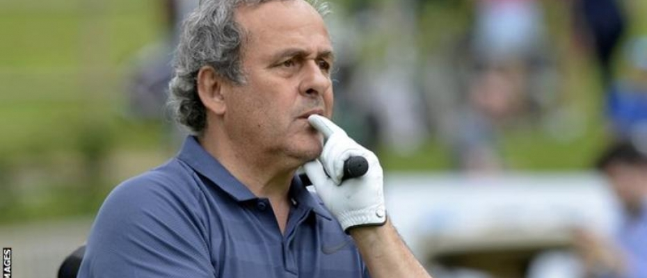Michel Platini was head of Uefa from 2007 until he was banned in 2015. Courtesy photo