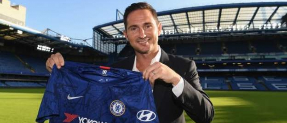 New Chelsea Manager Frank Lampard. Courtesy photo