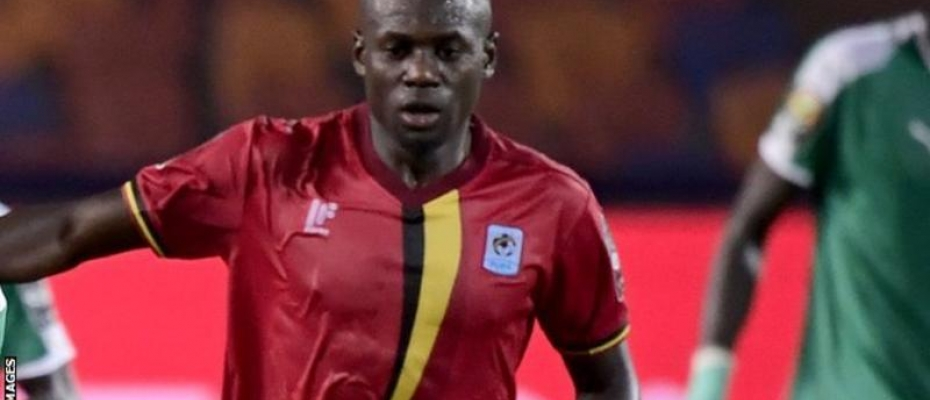 Uganda's Farouk Miya played all four games for the Cranes at the Africa Cup of Nations in Egypt. Courtesy photo