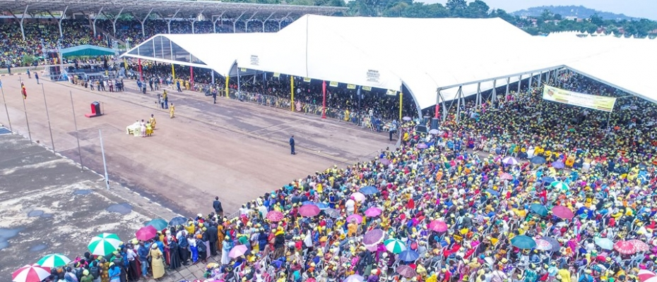 Kololo was filled to capacity during the Skilled Girls graduation. PPU photo