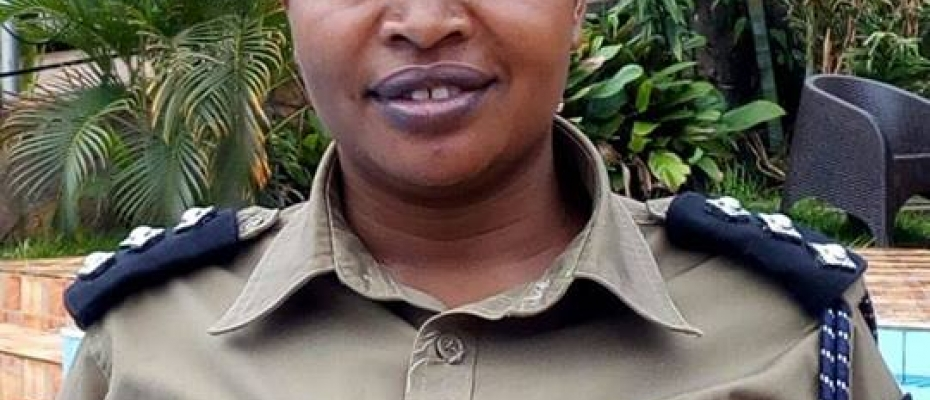 Rwenzori West Region Police Spokesperson Lydia Tumushabe. Courtey photo