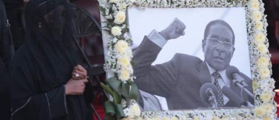 Robert Mugabe died from Singapore where he had been receiving treatment. Courtesy photo