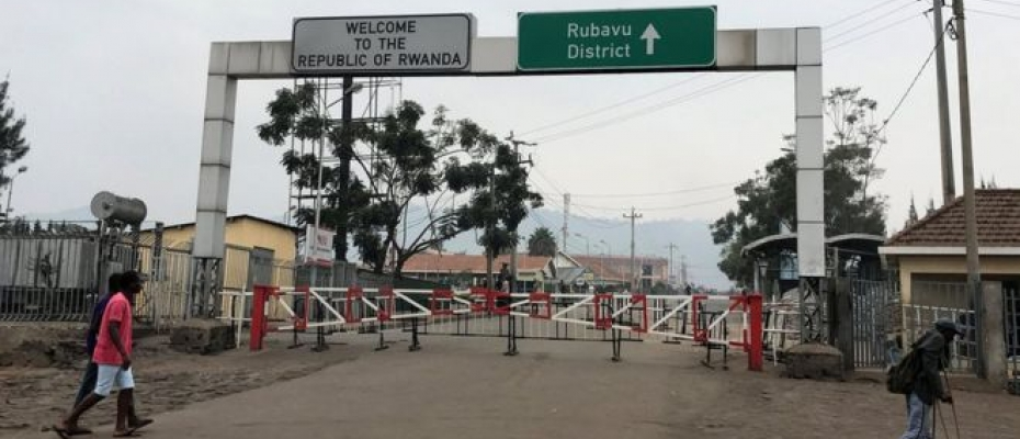 The Rwanda-Uganda Border at Katuna was closed in February this year. Courtesy photo