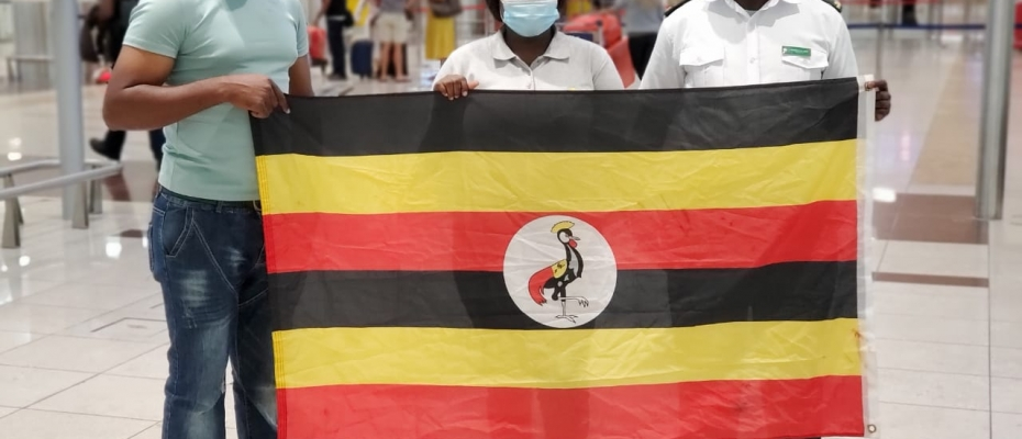 Ugandans return from uae