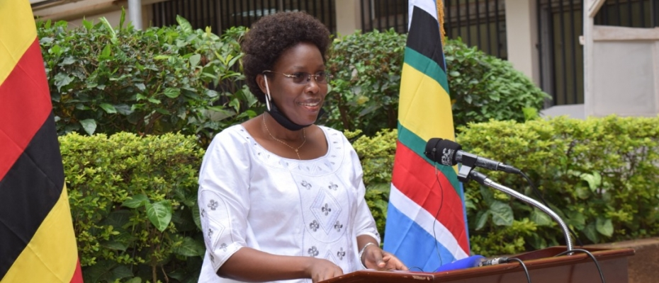 Minister of ICT and National Guidance Judith Nabakooba