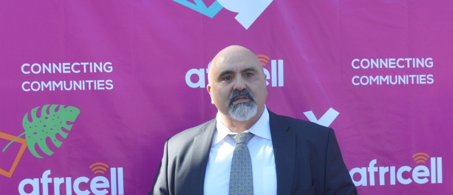 Africell Uganda CEO Zaid Daoud