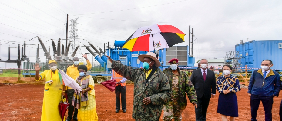 Earlier, I commissioned a 50MW mobile power station serving Sino-Mbale Industrial Park. The Park currently employs 800 People but when it reaches full capacity will employ 15,000