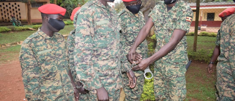 7 UPDF Officers Jailed for Assaulting Journalists