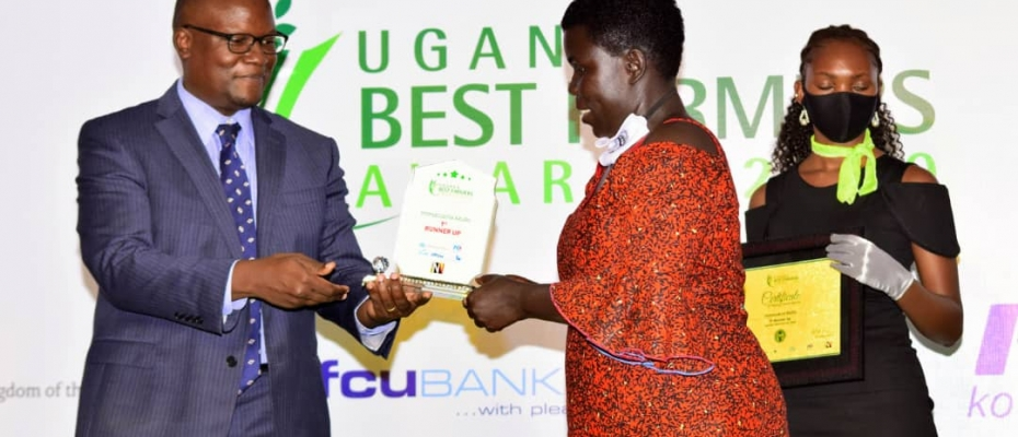 The overall winner of the Uganda Best farmers competition, Philip Kalera from Central Region walked away with Shs50 million and an all-expense paid farming trip to the Netherlands.
