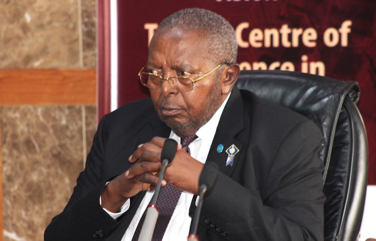 Bank of Uganda Governor Prof. Emmanuel Mutebile