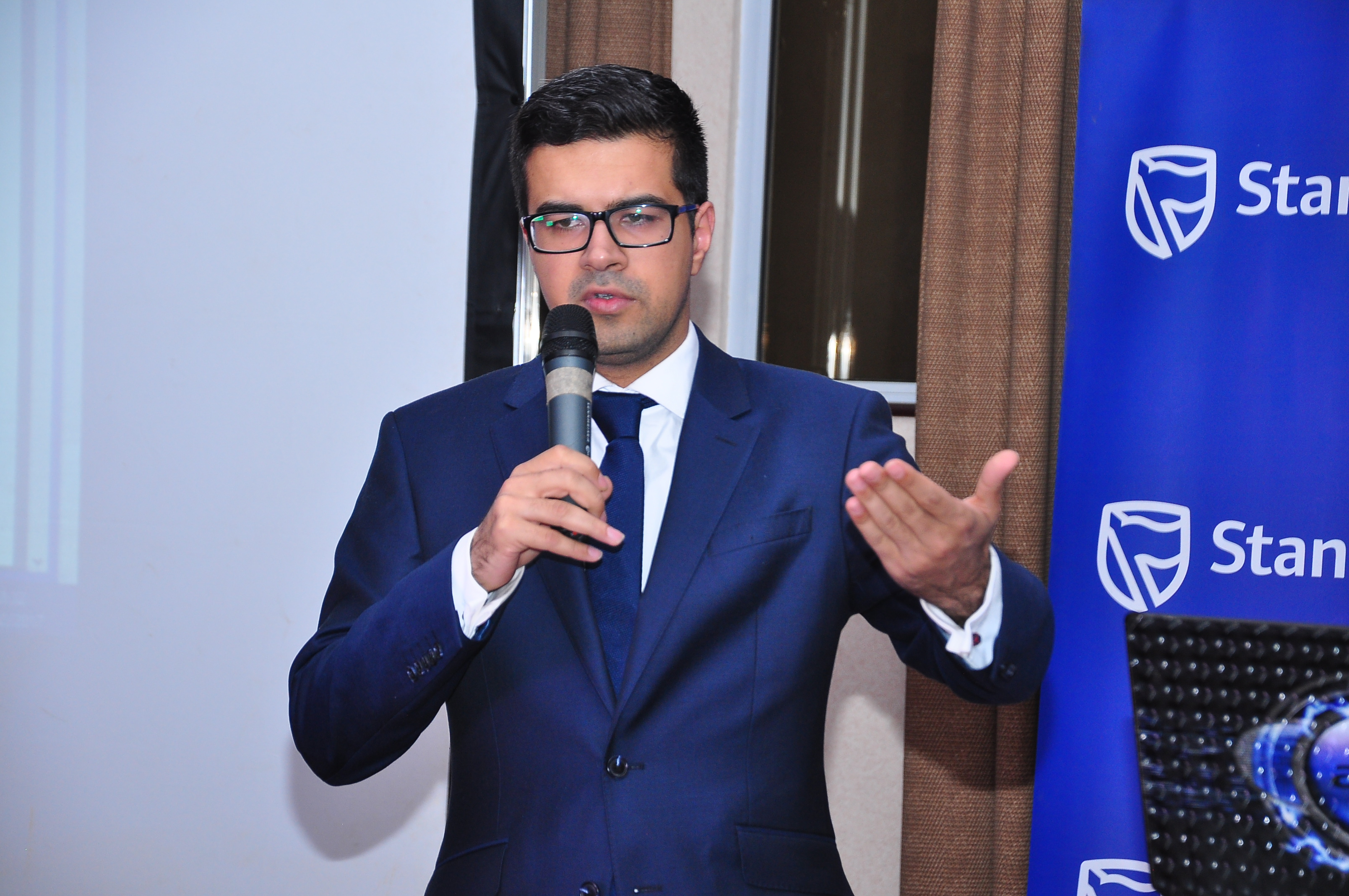 Jibran Qureishi, head of Africa Research at Stanbic Bank