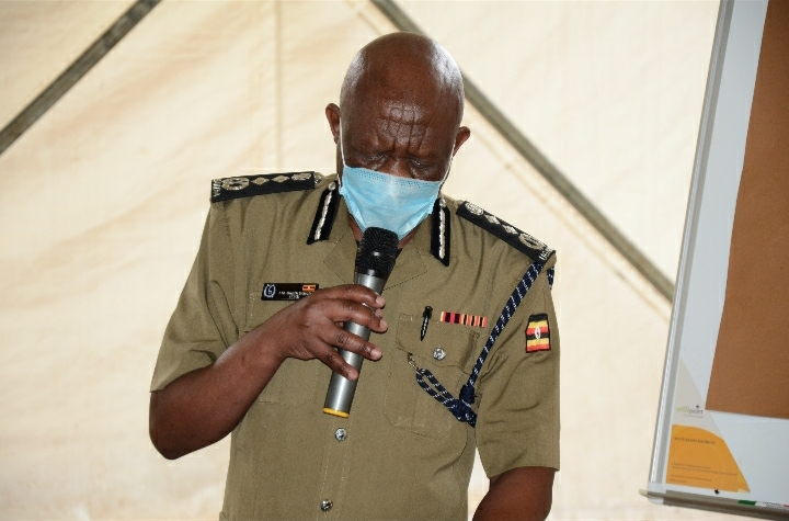 Okoth Ochola, the Inspector General of Police