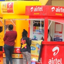 Mobile money Kiosks in Kampala