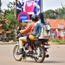 Boda riders are among the beneficiaries