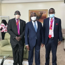Kenyan delegation