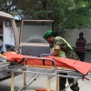 Corporal Kyasiimire is well aware that time is of essence and the injured must be rushed to hospital