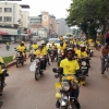 Boda Boda riders go wild after Museveni was declared winner