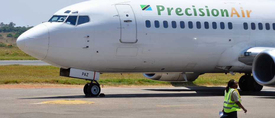 a Precision Air plane - Internet Photo