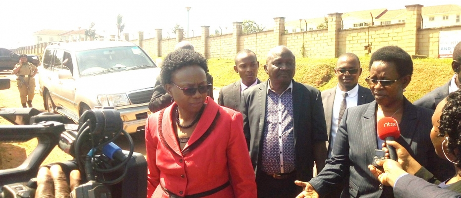Health minister Jane Aceng and PS Diana Atwine were bounced from Lubowa hospital construction site