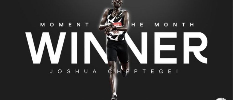 Cheptegei has been voted World Athlete of the Month