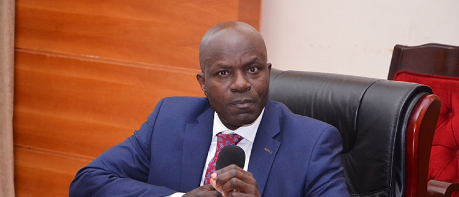 Education ministry permanent secretary Alex Kakooza